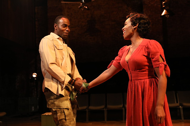 Anika Noni Rose and Clifton Duncan in Carmen Jones