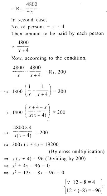 Selina Concise Mathematics Class 10 ICSE Solutions Chapter 6 Solving Problems Ex 6E 3