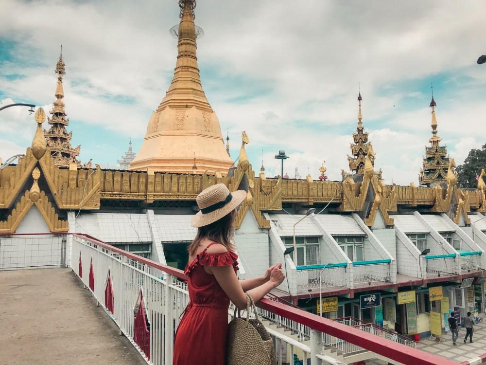 Shwedagon Pagoda Sule Myanmar Yangon-6