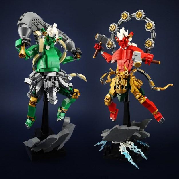 雷神&風神 Raijin&Fujin