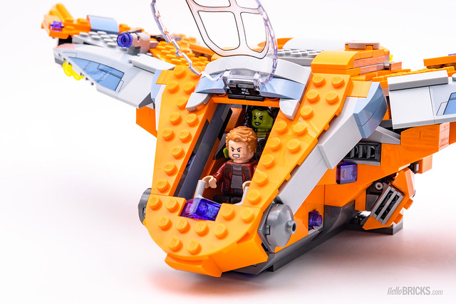 REVIEW LEGO Marvel 76107 Thanos Ultimate Battle 11