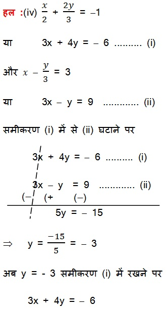 NCERT Solutions For Class 10 Maths PDF Pairs of Linear Equations in Two Variables (Hindi Medium) 3.2 66