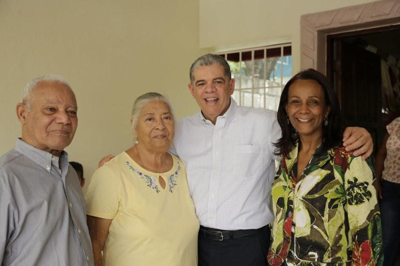 Visita a Paulino Ventura, Peravia 7 de julio 2018