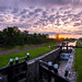 15th Lock Sunset