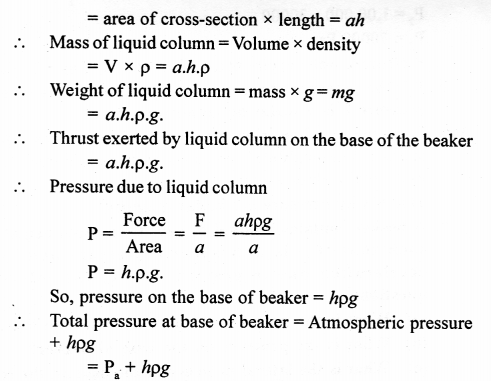 A New Approach to ICSE Physics Part 1 Class 9 Solutions Pressure in Fluids.04