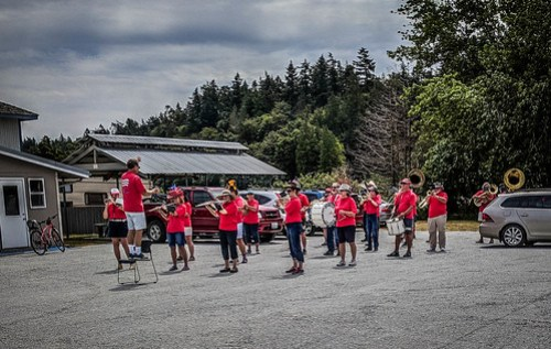 Samish Island Marching Band-003