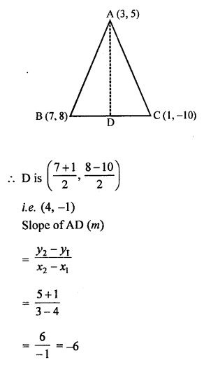 Selina Concise Mathematics Class 10 ICSE Solutions Chapter 14 Equation of a Line Ex 14C 9
