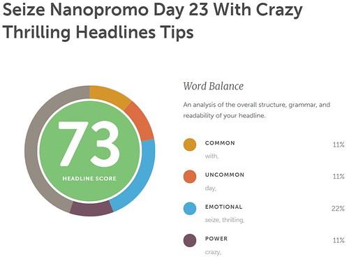 Day 23 #NaNoProMo Emotional Headlines @JLenniDorner 4