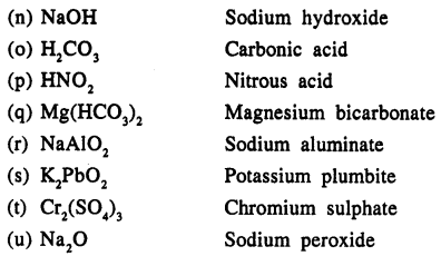 New Simplified Chemistry Class 9 ICSE Solutions - The Language Of Chemistry - 14
