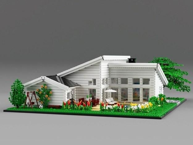 家庭的房子