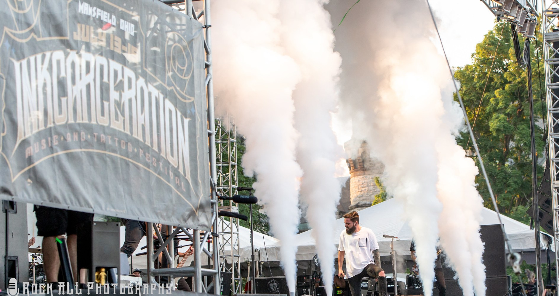 A Day To Remember Inkcarceration Festival Day 1 - Mansfield, OH - 7/13/18