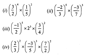 RS Aggarwal Class 7 Solutions Chapter 5 Exponents Ex 5A