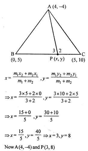 Selina Concise Mathematics Class 10 ICSE Solutions Chapter 13 Section and Mid-Point Formula Ex 13C 1