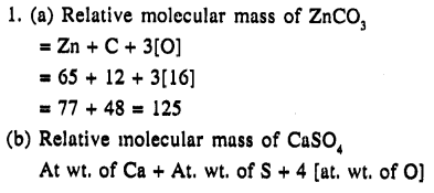 New Simplified Chemistry Class 9 ICSE Solutions - The Language Of Chemistry - 22.2