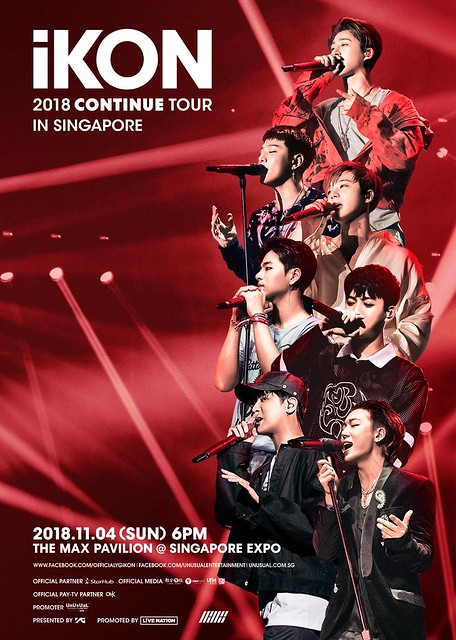 iKON 'Continue' Tour in Singapore