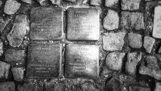 Stumbling Stones of Berlin