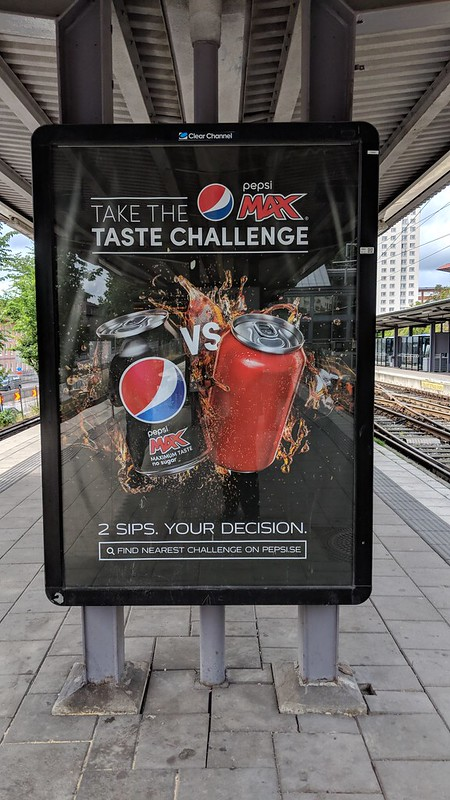 Pepsi Challenge in Stockholm