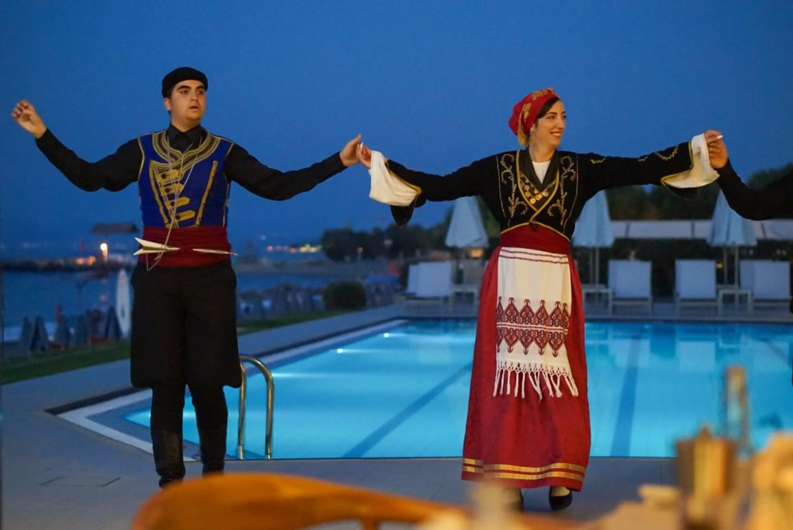 Kreikkalainen ilta, Blue Dome Platanias