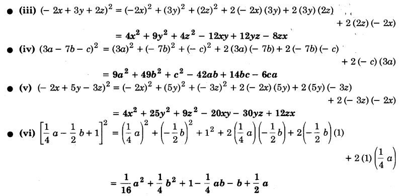 UP Board Solutions for Class 9 Maths Chapter 2 Polynomials 2.5 4.1