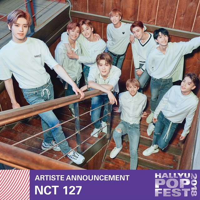 HallyuPopFest 2018 - NCT 127