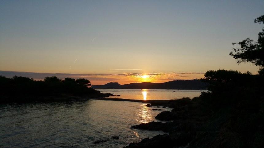 Lever de soleil à la Pointe Prime