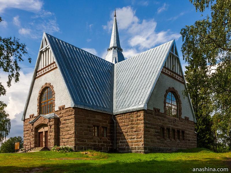 Лютеранская кирха в Мельниково, Ленинградская область