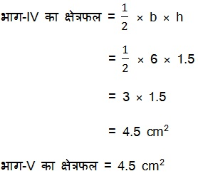 Class 9 NCERT Maths Heron's Formula Solutions Hindi Medium 12.2 3.3