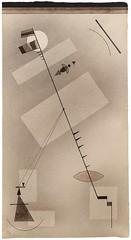 Wassily Kandinsky, Gespannte Linie (July 1931)