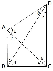 NCERT Maths Solutions For Class 9 Triangles Hindi Medium 7.4 4.1