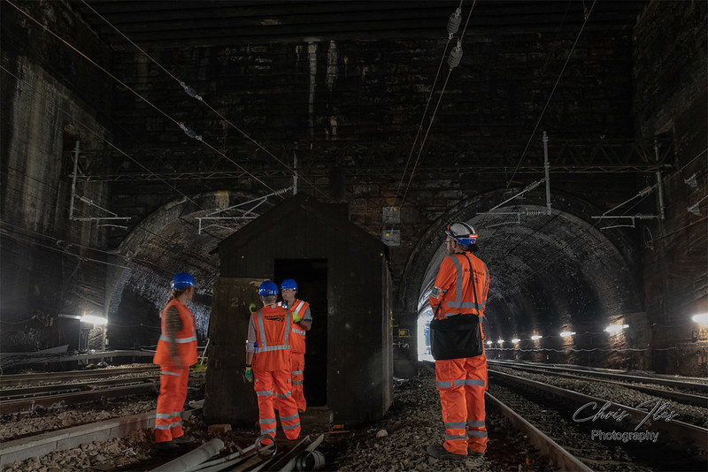 Liverpool Lime Street to Edge Hill Cutting