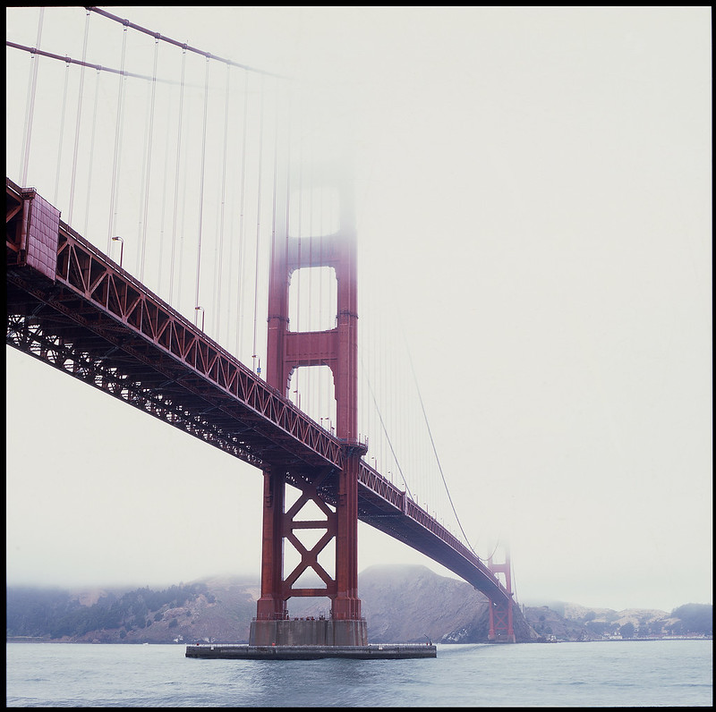 Golden Gate Bride Slide Film