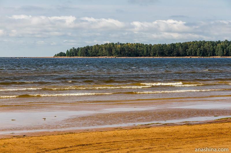 Мыс Кюрённиеми и бухта Жёлтая, Балтийское море