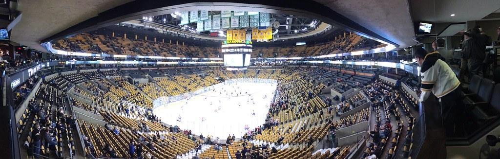 Boston Bruins stadium