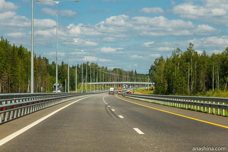 Трасса М-11 в Тверской области