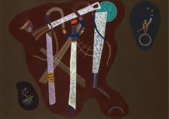 Wassily Kandinsky, Drei Säulen (May 1943)
