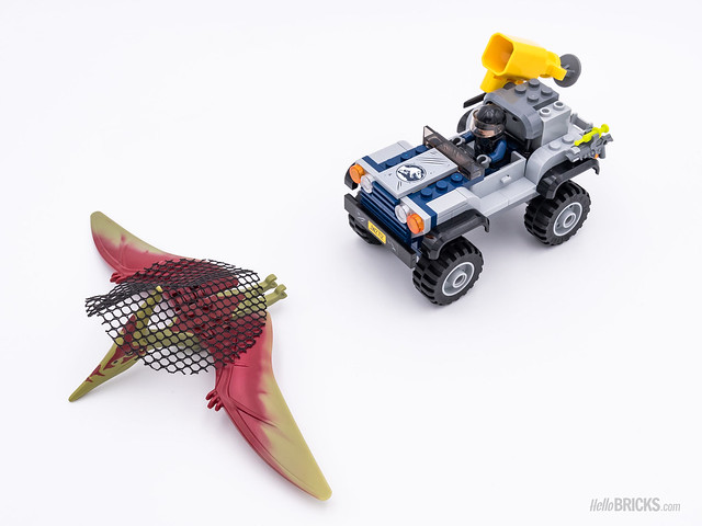 REVIEW LEGO 75926 Pteranodon Chase