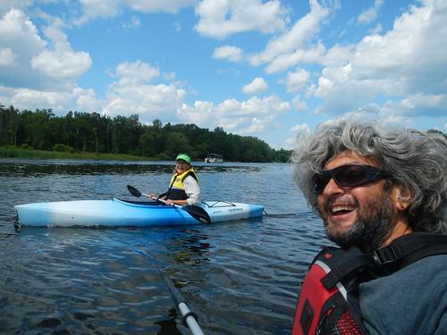 Carleton Place - Linda and Pierre kayaking