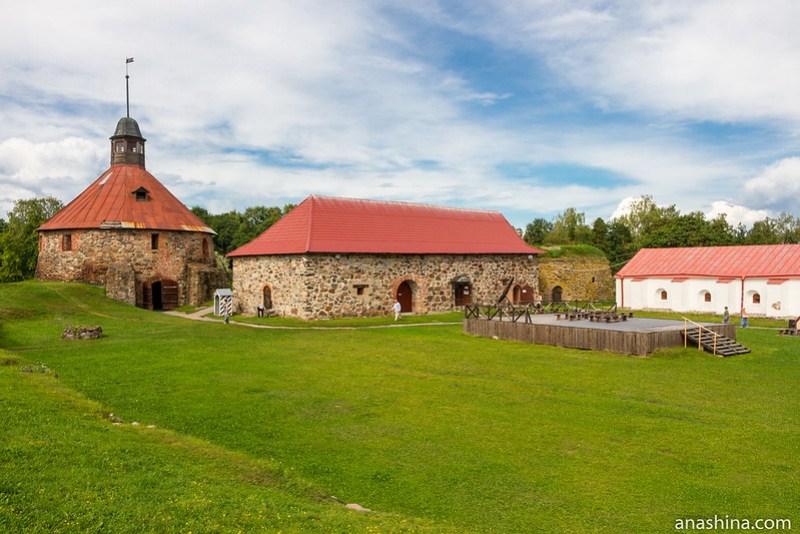 Крепость Корела (Кексгольм) в Приозерске