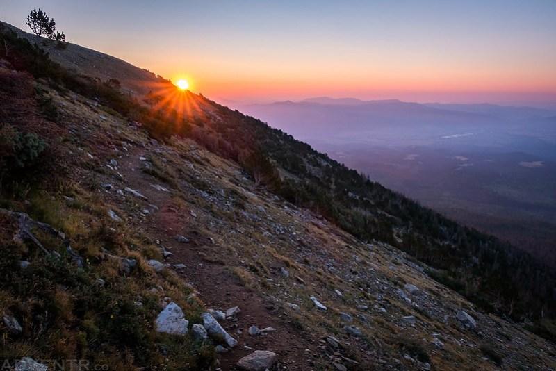 Shavano Trail Sunrise