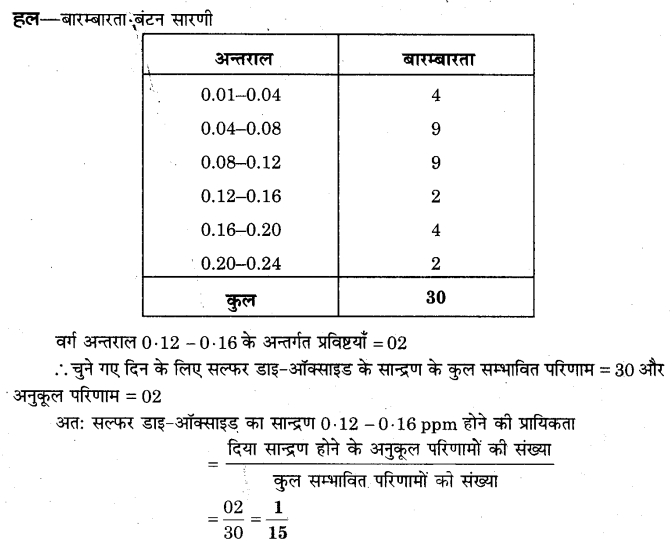 NCERT Solutions for Class 9 Maths Chapter 15 Probability (Hindi Medium) 15.1 12.1