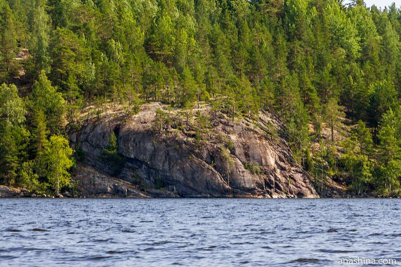 Скала, Ладожское озеро