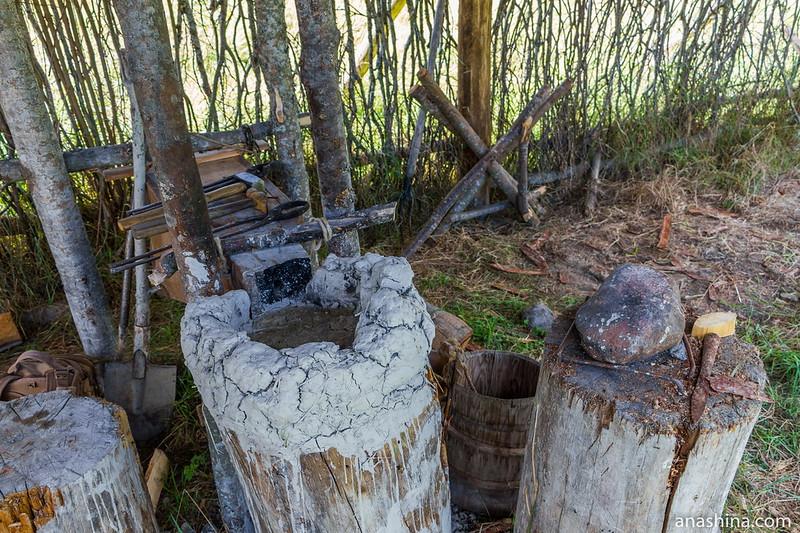 Походная кузница, Музей живой истории эпохи викингов Бьоркагард, Берёзово