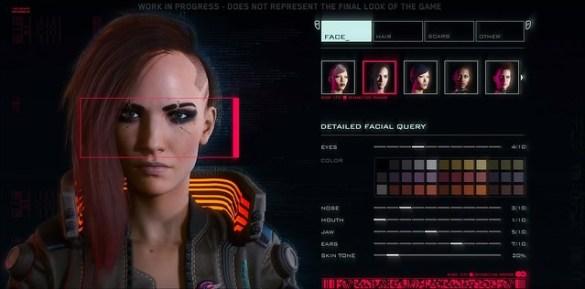 Cyberpunk 2077 - Character Creation