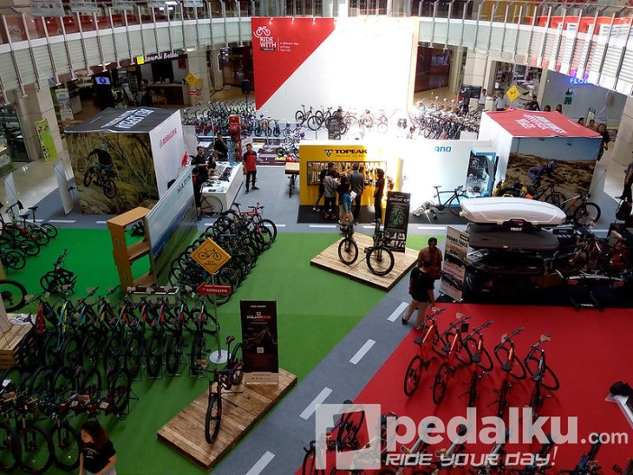 Ride With Rodalink - Mall Artha Gading - Pedalku