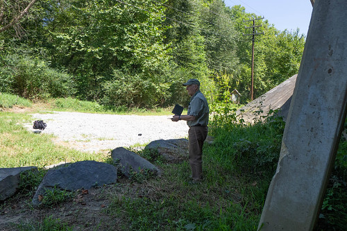 Jim Leavell with Drone at French Broad River-006