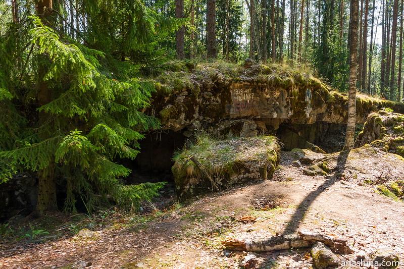 Развалины ДОТа №7 укрепрайона Инкиля (Ink 7), линия Маннергейма
