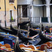 Gondolas, Bacino Orseolo, Venice