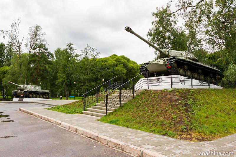 Крепость Корела в Приозерске, Мемориал воинам-освободителям