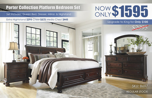 Porter Platform Bedroom Set_B697_RS