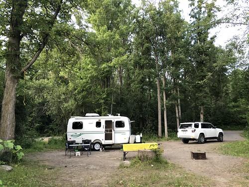 Fitzroy Provincial Park - campsite